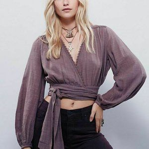 Free People FP Happiest Days Wrap Top S US